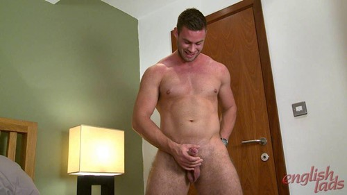 Tom Shows His Very Hairy Hole & Enjoys His 1st Manhandling!