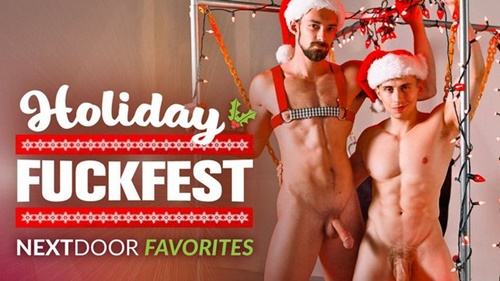 Next Door Favorites Holiday Fuckfest!