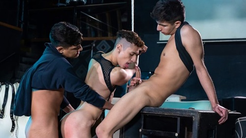 Sonny, Felix, Fabrice – Rough Boys Share Raw Twink Hole