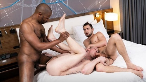 Skin Deep Adonis Couveture, Jackson Cooper, Johnny Rapid