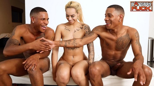 Ivy Steele's FIRST MMF Threesome With Dee King & Jay King