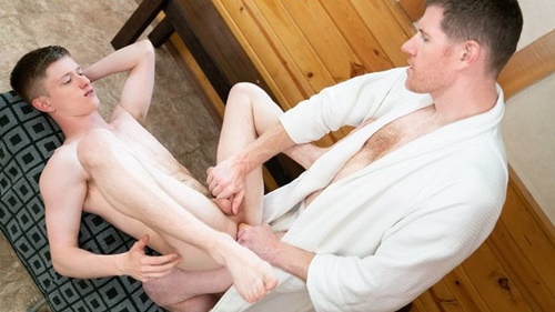 THE DOCTOR'S SON – Tape 10 – Jerking Off with Dad